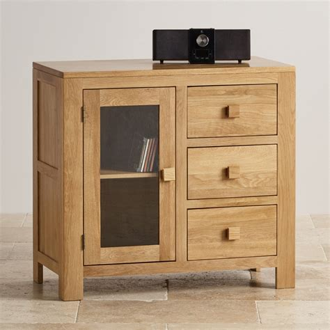 media cabinet with drawers oakdale glazed media cabinet with 3 drawers solid oak