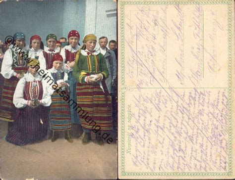 Samt Nägel by Historische Ansichtskarten Trachten 02