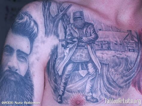 ned kelly tattoos
