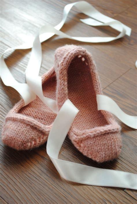 knitted ballerina slippers knitted ballerina slippers 28 images soxo s knitted