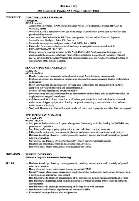 Apple Resume Sles Velvet Jobs Apple Resume Template