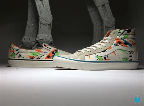 Sepatu Vans Skate High Starwars wars vans sk8 hi slip on