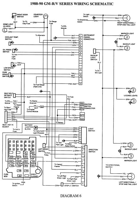 electrical diagrams chevy  page  projects   trailer wiring diagram chevy trucks