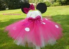 Tutu Dress Mini Pink Usia 3th tutu dress pink minnie mouse costume w hair bow baby toddler 1st birthday
