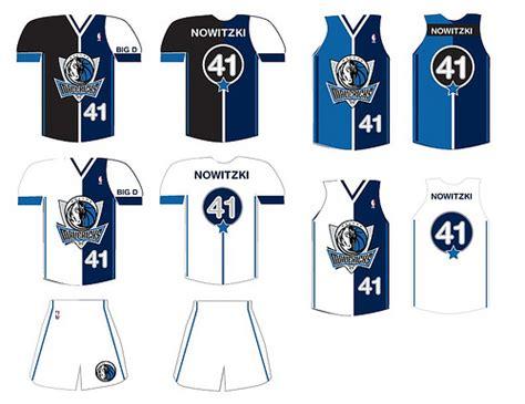 jersey design dallas les premiers designs de maillots propos 233 s aux mavs