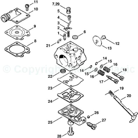 stihl ms290 parts diagram stihl 290 parts diagram stihl free engine image for user