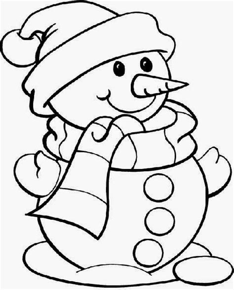 cute holiday coloring pages snowman coloring pictures free coloring pictures