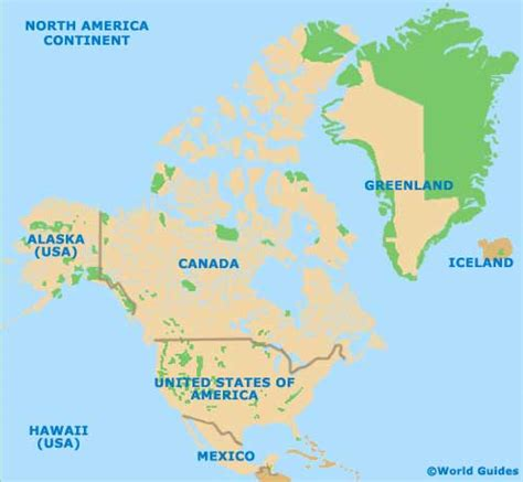 america map continent image america continent map