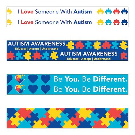 printable autism awareness bookmarks pictures the autism puzzle