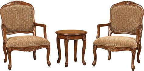 Accent Chair And Table Set 3 Accent Chairs Side Table Set The Brick