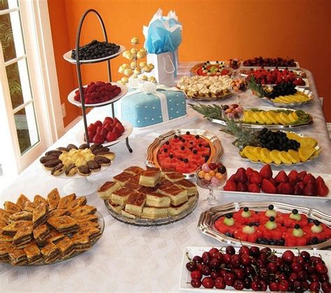 Easy Baby Shower Finger Food Ideas by