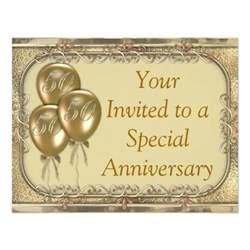 50th wedding anniversary invitation announcement 4 25 quot x 5 5 quot invitation card zazzle