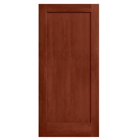 jeld wen woodgrain 15 lite unfinished pine single prehung feather river doors 36 in x 80 in 15 lite illusions