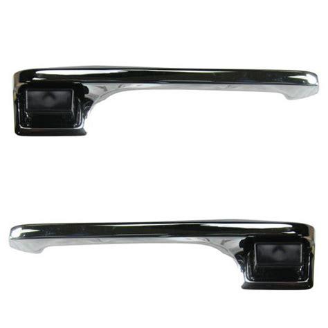 Chrome Exterior Door Handles Chrome Outside Exterior Door Handle Left Right Pair Set