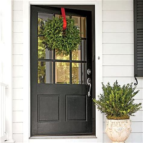 Farmhouse Detail Oversize Front Door Farmhouse Exterior Doors