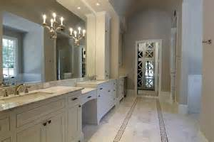 stunning master bathroom with warm gray paint bath alcove wall of white bathroom