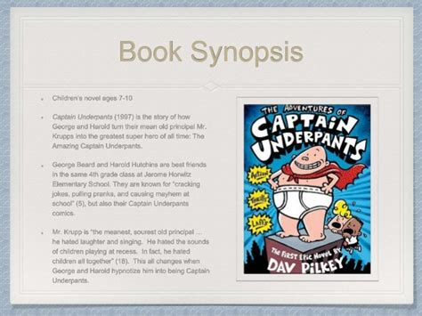 captain underpants book report captain underpants