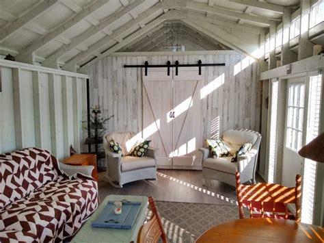hangout shed   backyard vacation space beachy barns