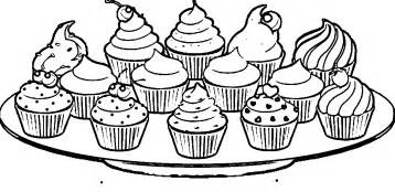 cupcake coloring pages cupcakes coloring page coloring home
