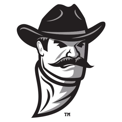 logo new mexico state university aggies pistol pete head
