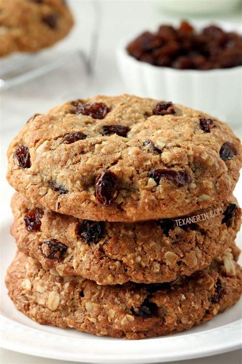 a whole grain oatmeal whole grain chewy oatmeal raisin cookies texanerin baking