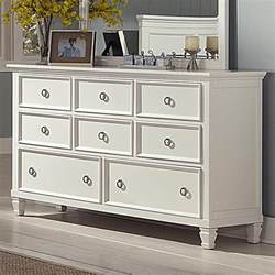 Bedroom Dressers With Mirror Tami White Dresser Nader S Furniture