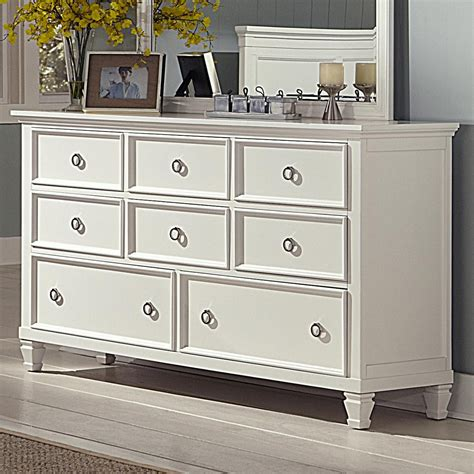 White Bedroom Dresser Tami White Dresser Nader S Furniture