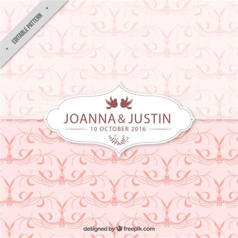 pink pattern vector free download pink wedding pattern vector free download