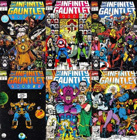 the gauntlet series 1 singapore comics collectibles the infinity gauntlet 1