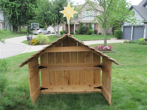 best 25 outdoor nativity sets ideas on pinterest