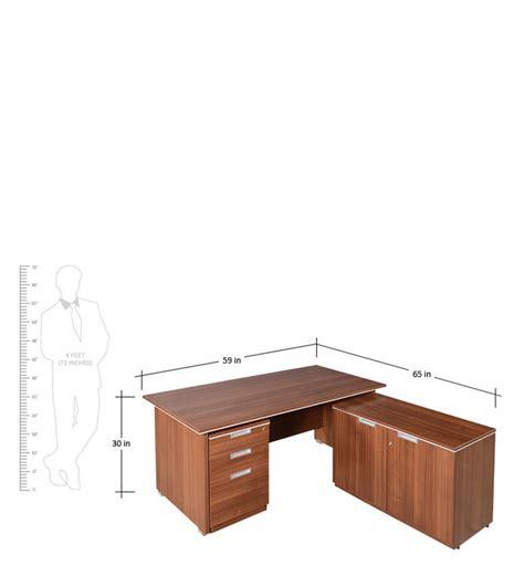 buy spacewood nova spacious office desk set  modern study laptop tables study
