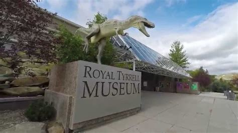 royal tyrrell museum drumheller alberta youtube