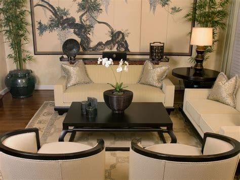 Asian Decor Modern Furniture Asian Living Rooms
