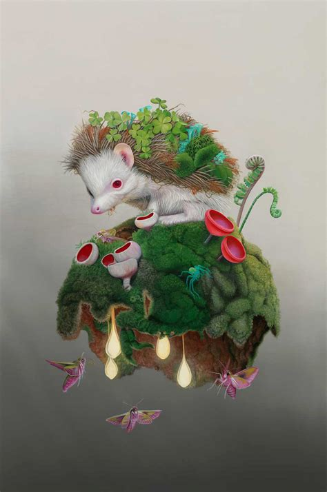 Cliffannie Forrester by Tiffany Bozic Stunning Surreal Nature Paintings