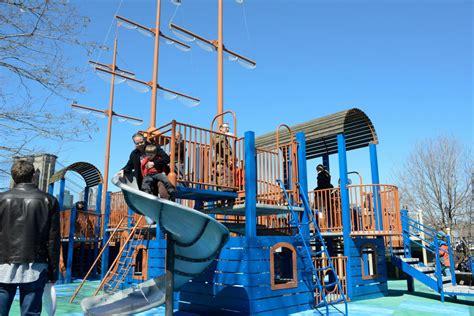 brooklyn swings playgrounds brooklyn bridge park