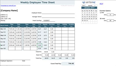 Need A Timesheet Template To Track Your Hours Here Are 12 Split Shift Schedule Template