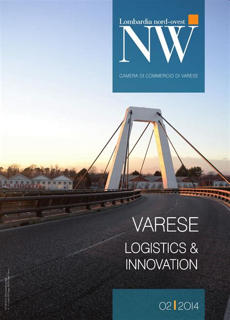 di commercio di varese lombardia nord ovest 2 2014 logistics innovation by