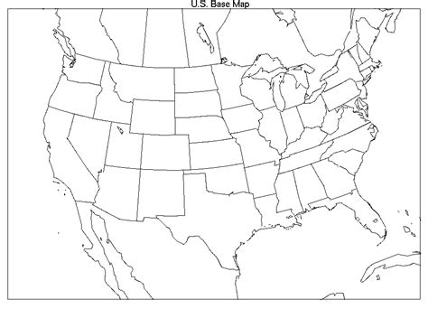 blank map of us canada and mexico blank map of canada united states and mexico