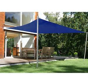 3 6m navy blue square sun shade sail patio garden uv
