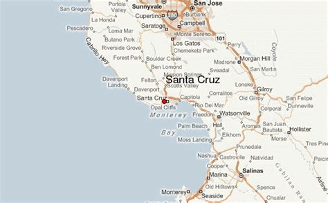Santa Cruz, California Location Guide