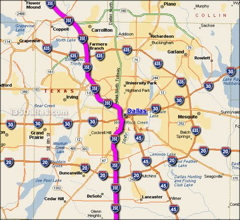 i 35 dallas traffic maps and road conditions