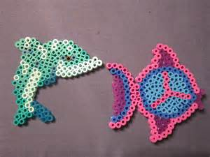 dolphin bead designs day 119 with perler inspired by the sea