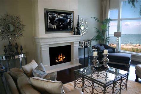white modern fireplace design ideas small living room