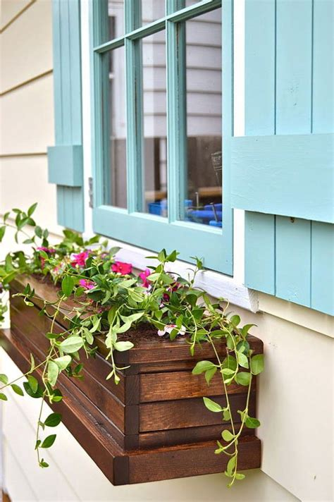 Window Box Planters Diy 25 superb diy window box planters decorazilla design