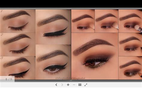 Blush Application Tutorial by Eye Makeup Tutorial Android Apps On Play
