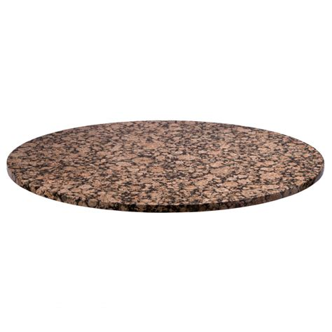 granite table tops 36 quot round granite table top baltic brown tablebases
