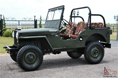 Willy Jeep 1949 Jeep Willys Cj 2 2 2l