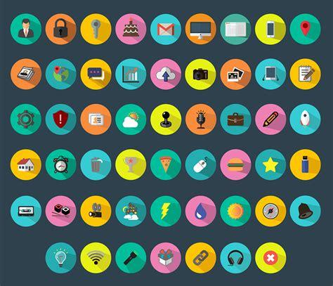 free 9 flat long shadow icons vector titanui free 52 colorful flat icons vector titanui