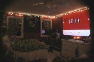 awesome bedroom with projector for netflix the igloo