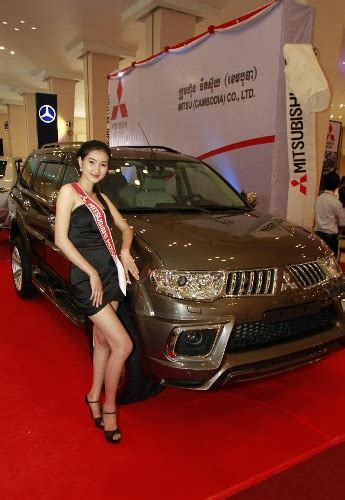 by lilliput models at friday march 15 2013 phnom penh int l motor show 2013 kicks off global times